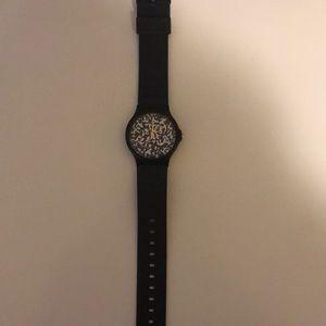 Men's Casio black watch